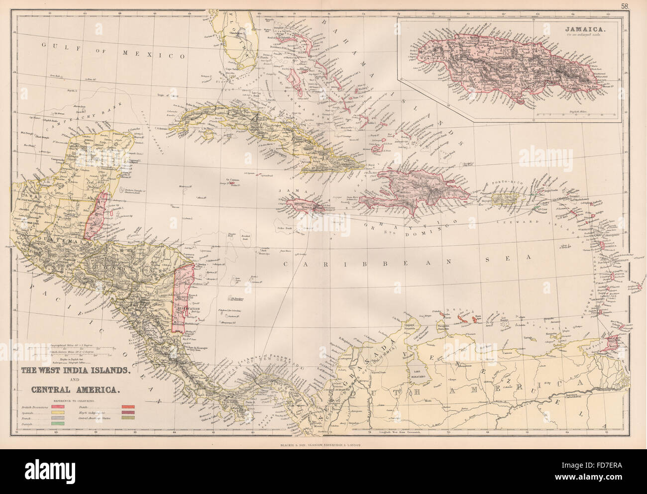 Colonial caribbean west indies danish virgin islandsegraph colonial caribbean west indies danish virgin islandsegraph cables 1882 map gumiabroncs Image collections