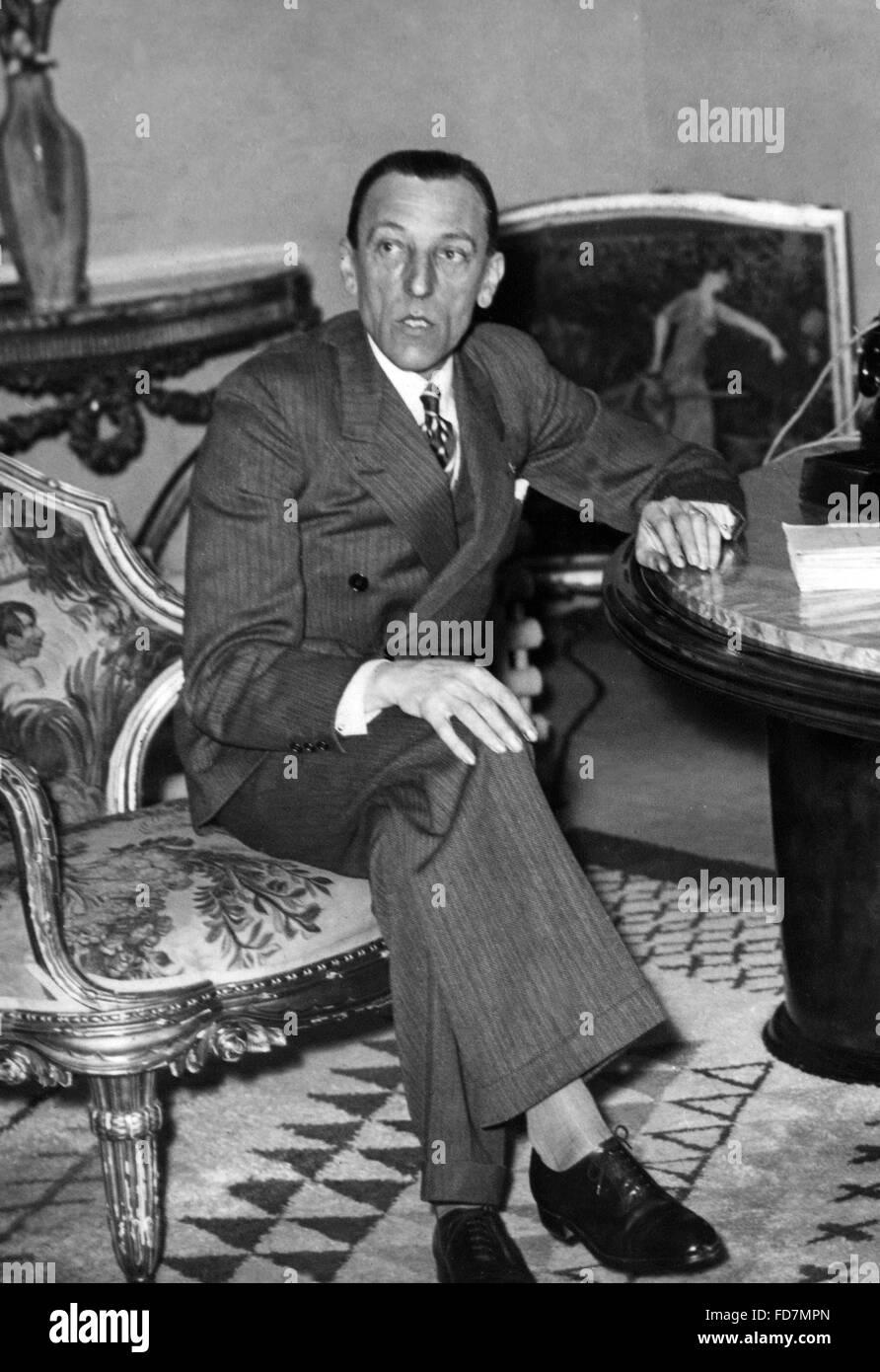 Admiral Bard, 1941 - Stock Image