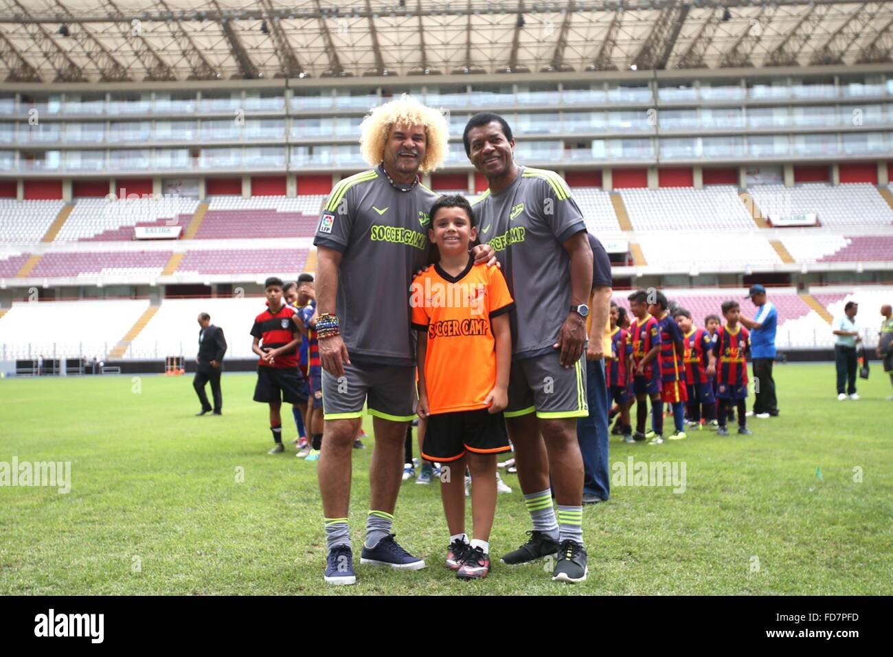 2dab84fee3a Carlos Valderrama Stock Photos & Carlos Valderrama Stock Images - Alamy