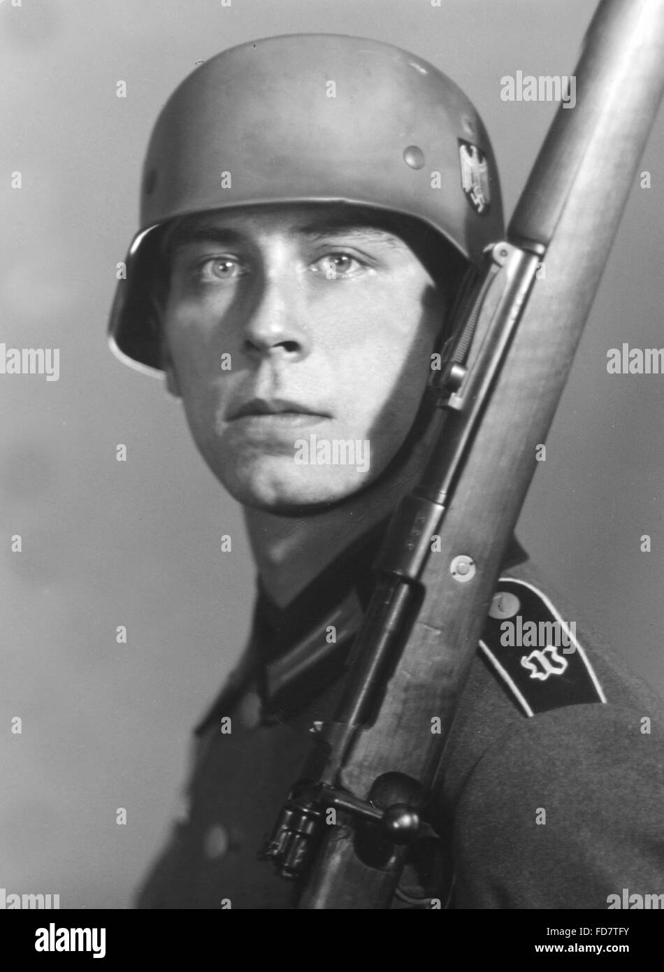 German soldier stock photo. Image of picture, equipment