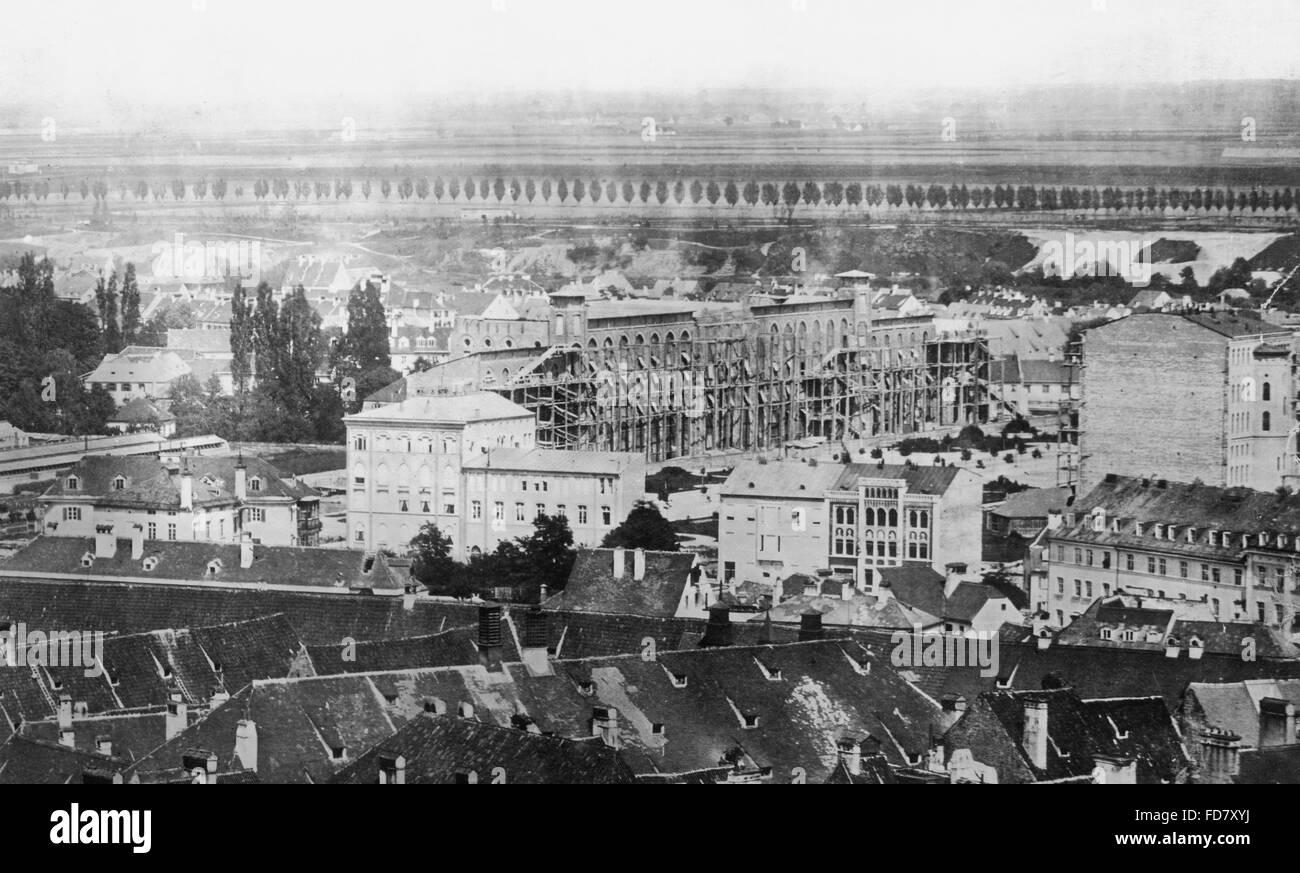 Maximilianeum in Munich, 1860s - Stock Image