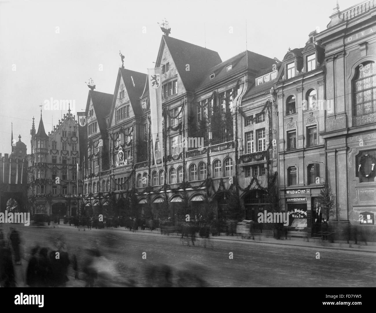 53933f8f50318e The department store Karstadt Oberpollinger in Munich - Stock Image