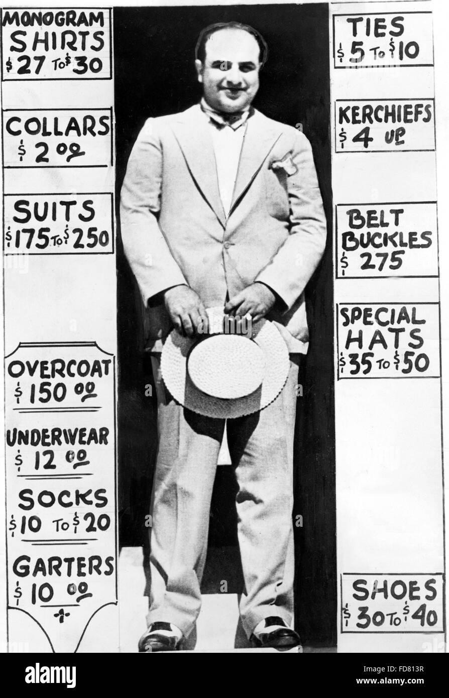 Al Capone, 1931 Stock Photo: 94218875 - Alamy
