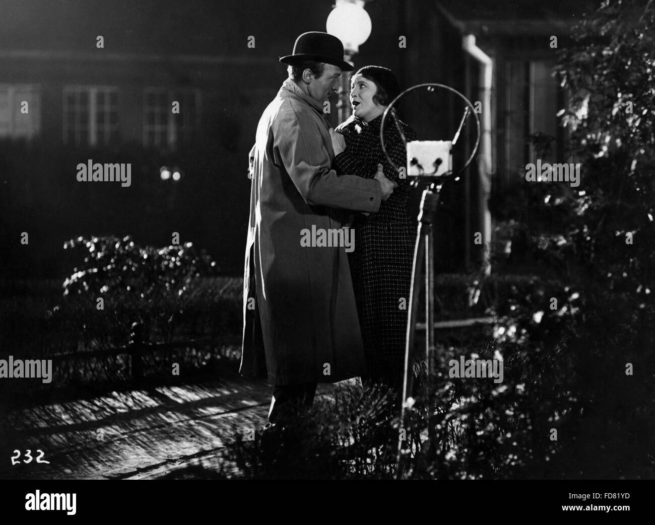 Hans Albers and Käthe Dorsch in the film Drei Tage Liebe, 1931 - Stock Image