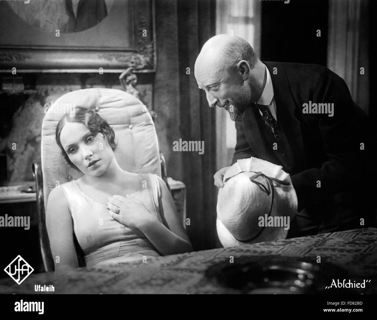 Brigitte Horney and Konstantin Mic, 1930 - Stock Image
