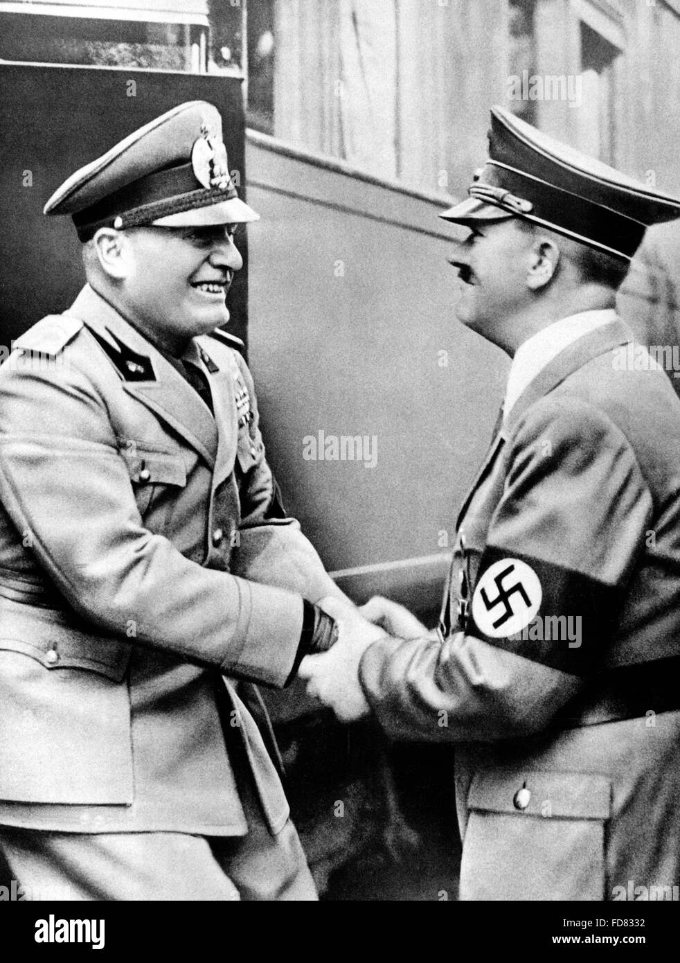 Image result for hitler mussolini