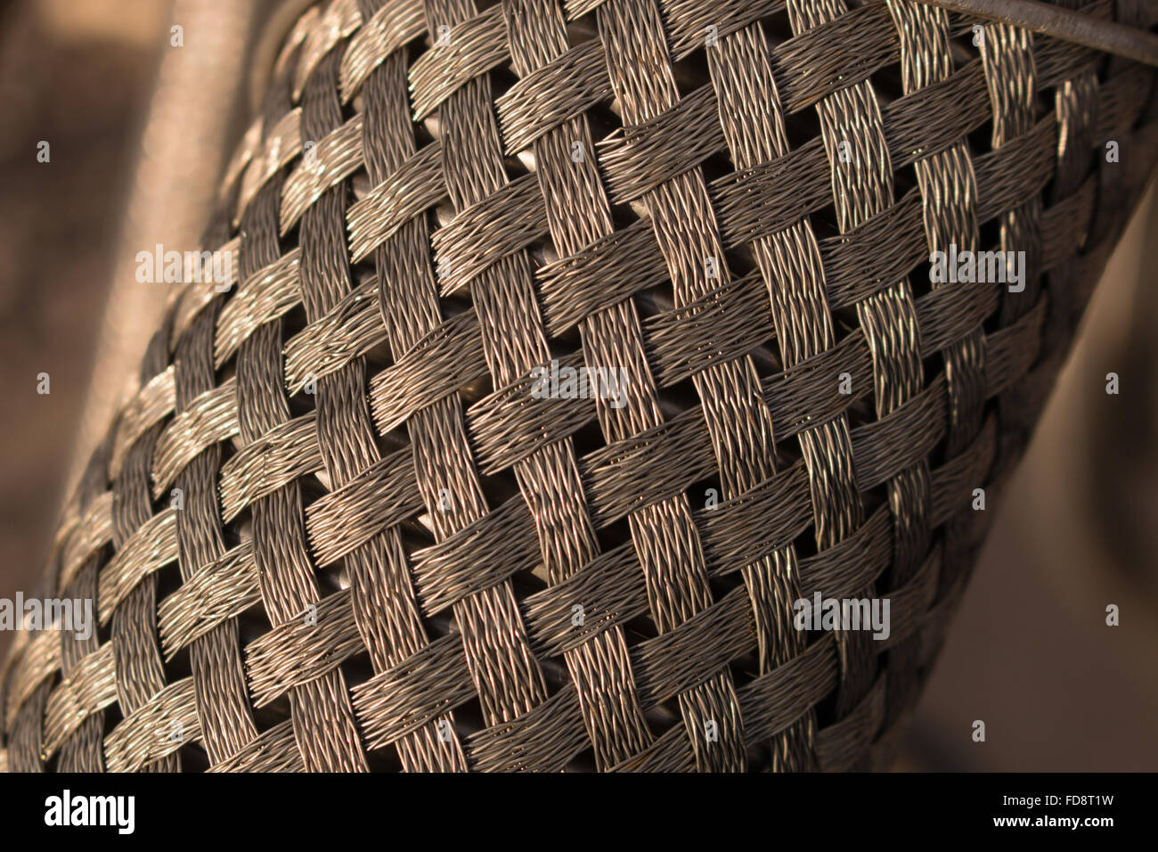 Diamond Wire Mesh Roll Stock Photo