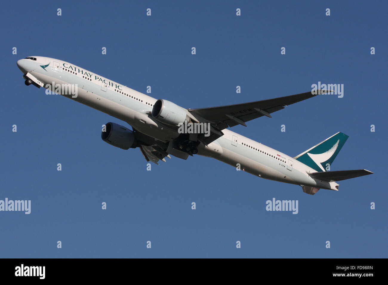 CATHAY PACIFIC SWIRE GROUP HONG KONG NEW LIVERY 2015 - Stock Image