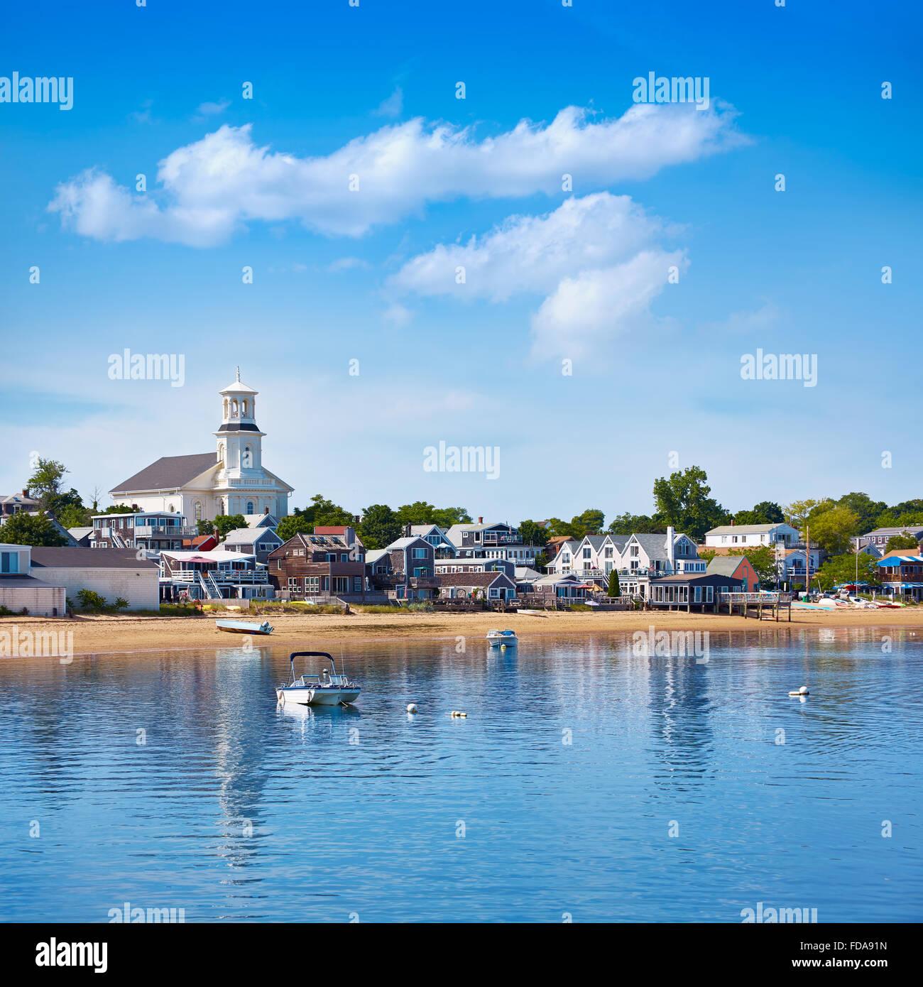 Cape Cod Provincetown beach Massachusetts USA - Stock Image