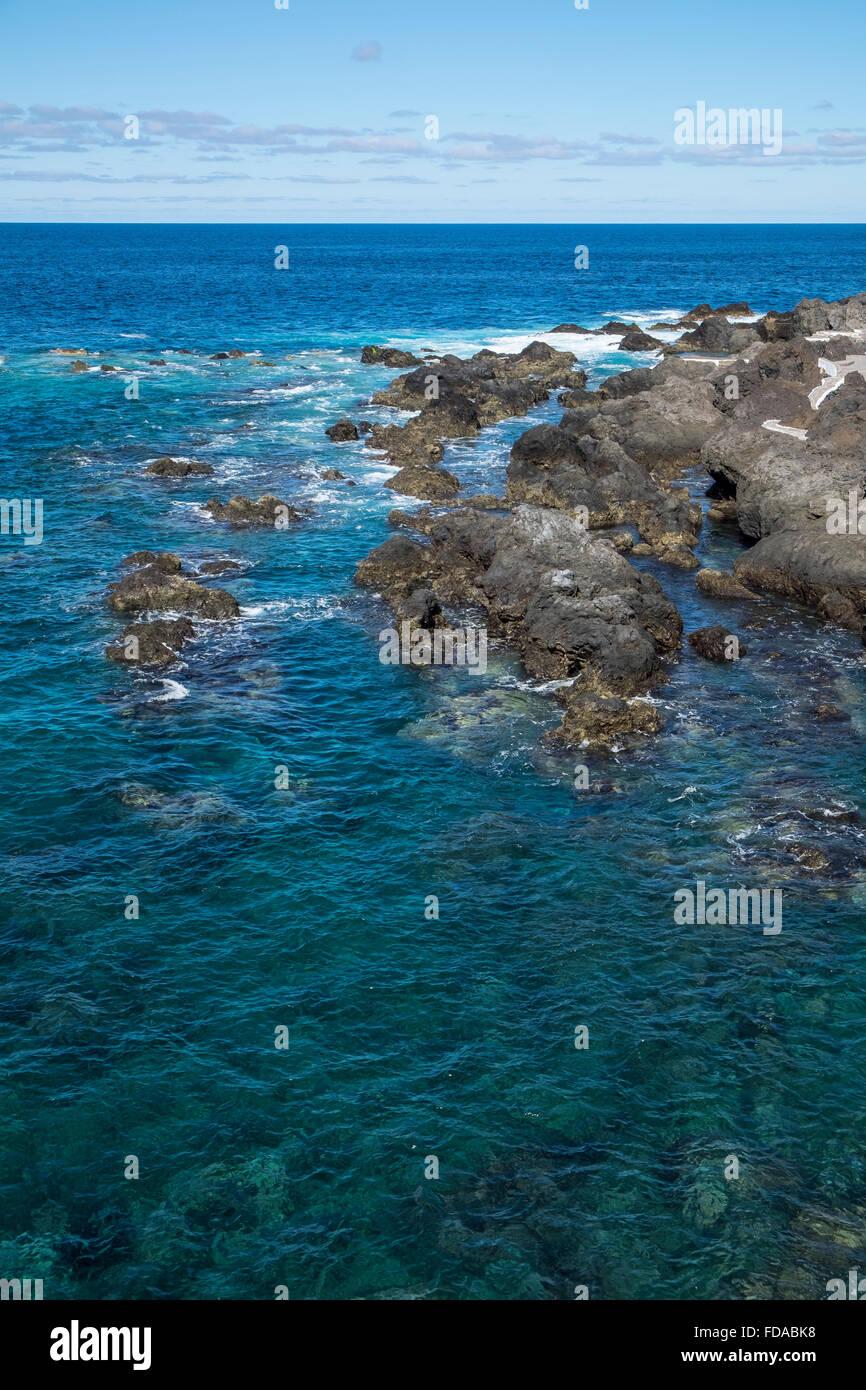 Lava rocks, Tenerife - Stock Image
