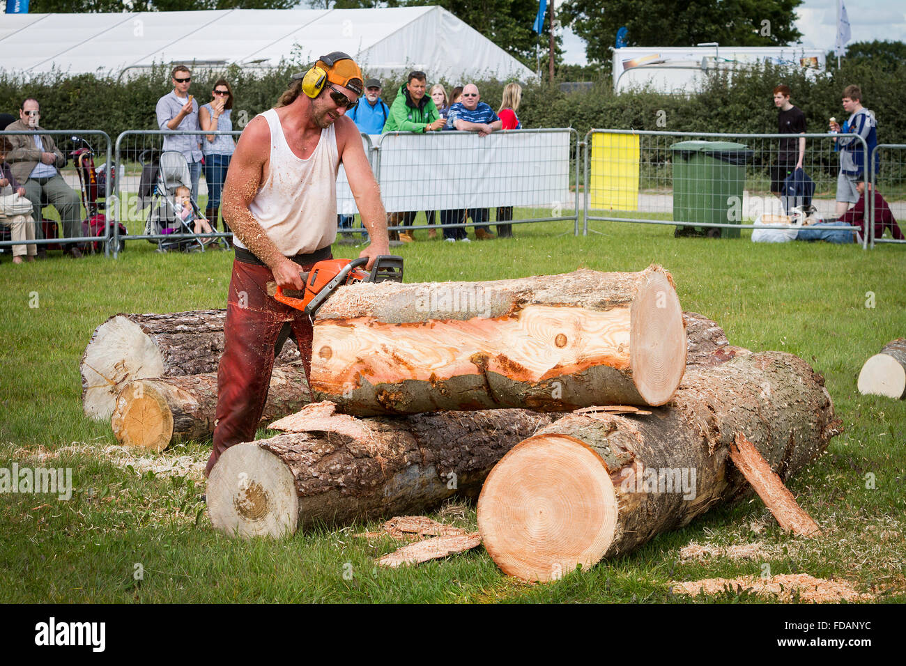 Chainsaw ppe stock photos images alamy