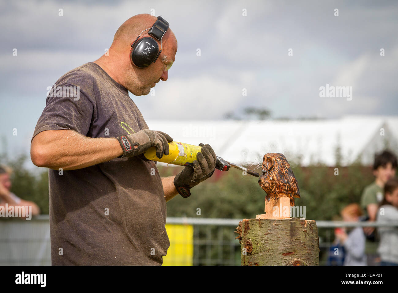 Chainsaw chain saw stihl stock photos