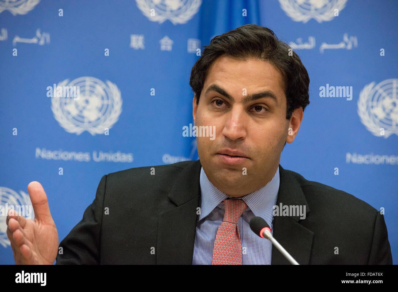 Ahmad Alhendawi ahmad alhendawi united nations secretary generals stock