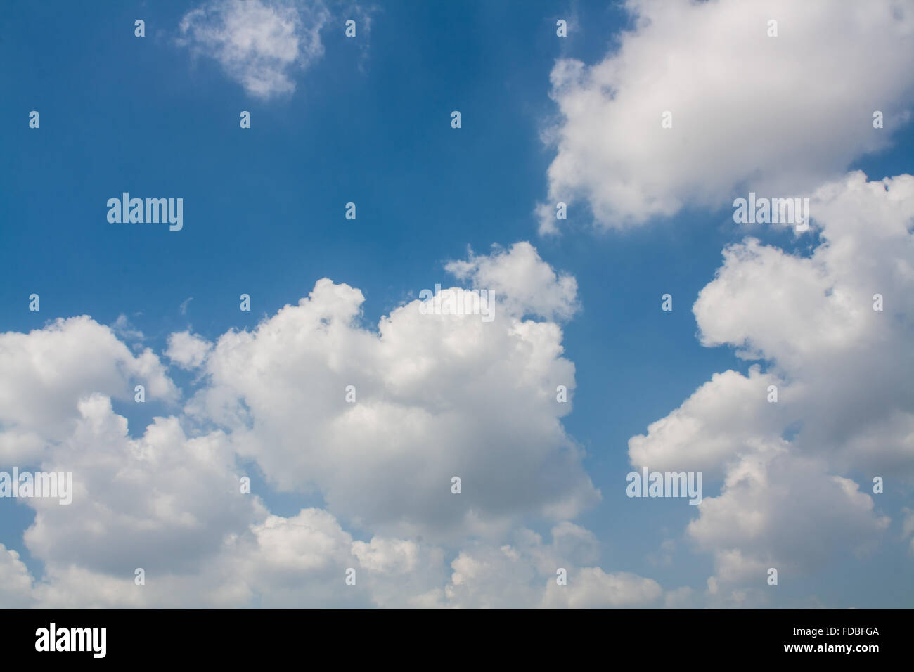 beautiful blue sky with white clouds wallpaper stock photo: 94296058