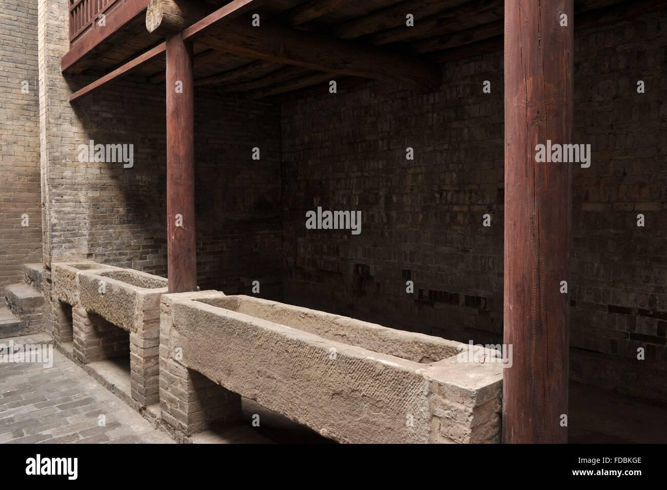 Shanxi Province Jincheng City Yangcheng County Shangzhuang Village Stock Photo