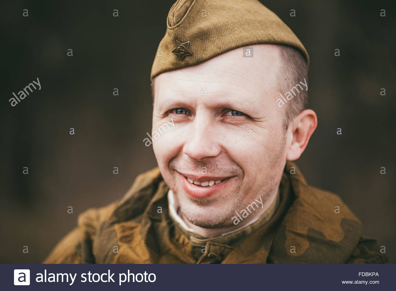 Smiling Russian Army Sol r Stock s & Smiling Russian Army