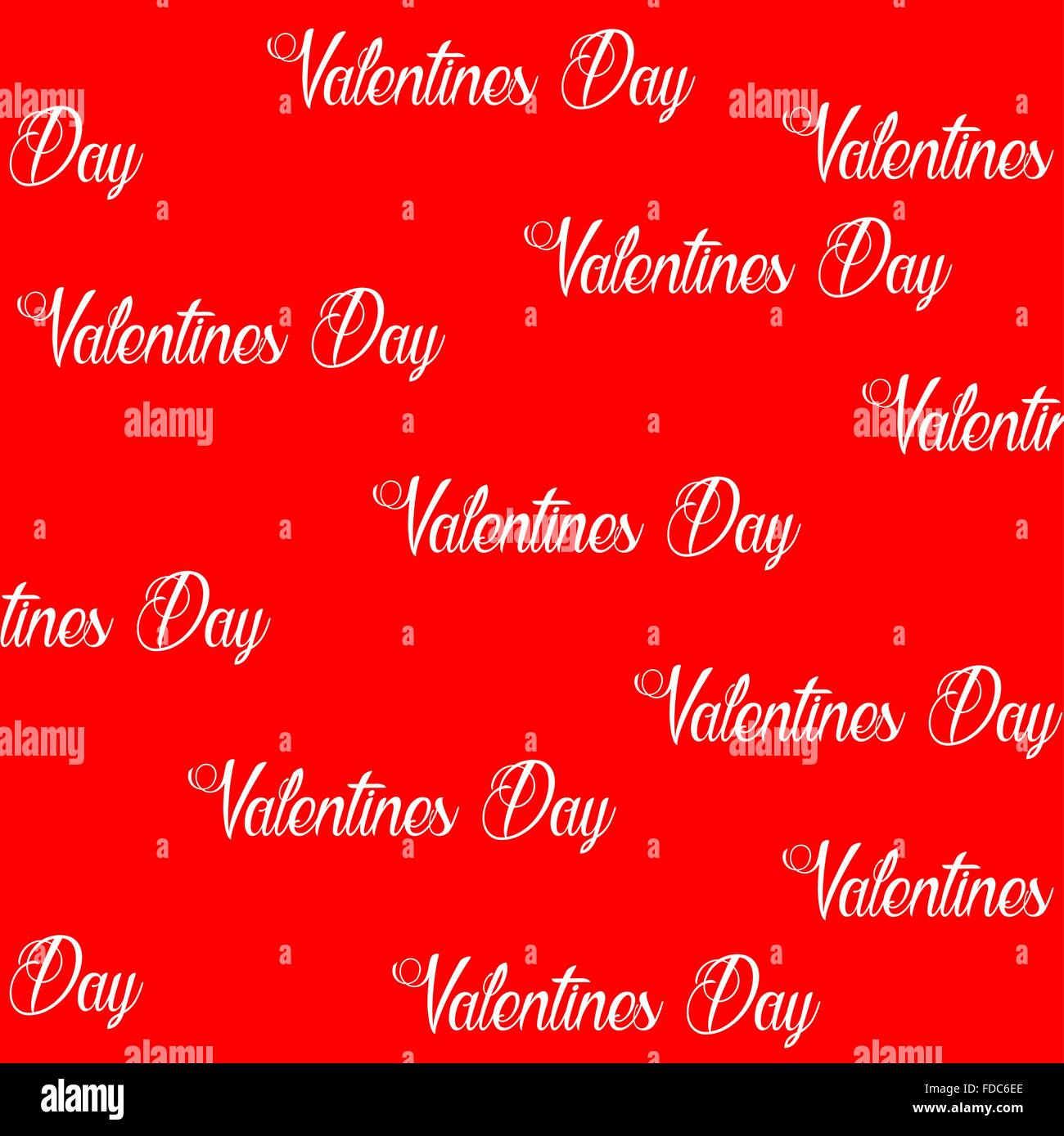 Gift Wrapping Paper Valentine Happy Valentines Day Stock Vector
