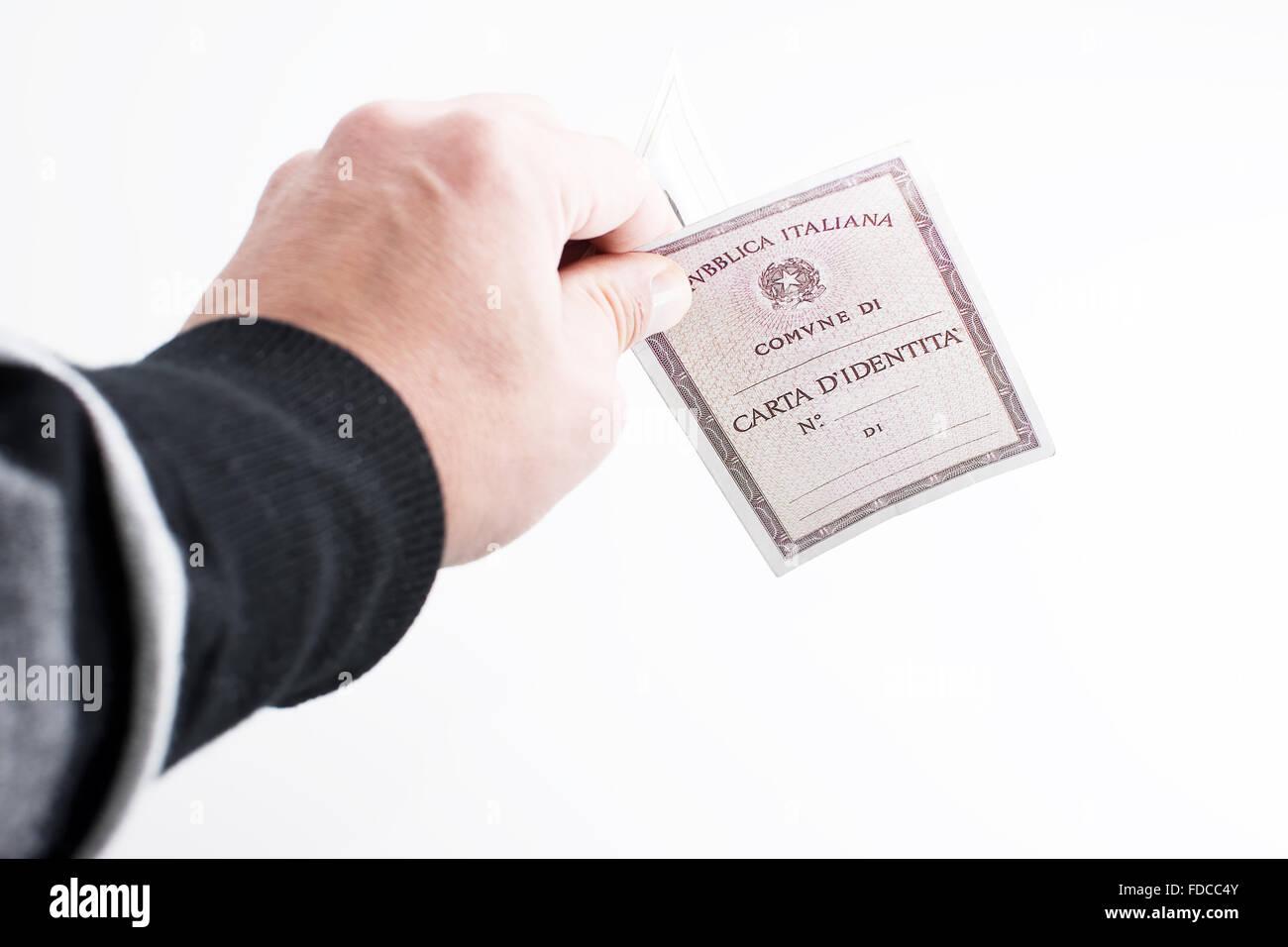 CUSTODIA MULTIPLA CARTA D´IDENTITÀ ITALIAN ID CARD HOLDER NEW