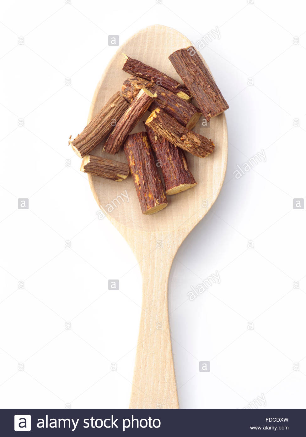 licorice stick ready for cocktail - Stock Image