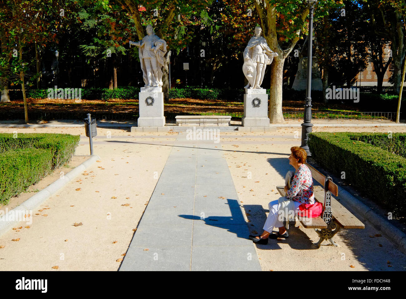 Plaza de Oriente Madrid Spain ES - Stock Image