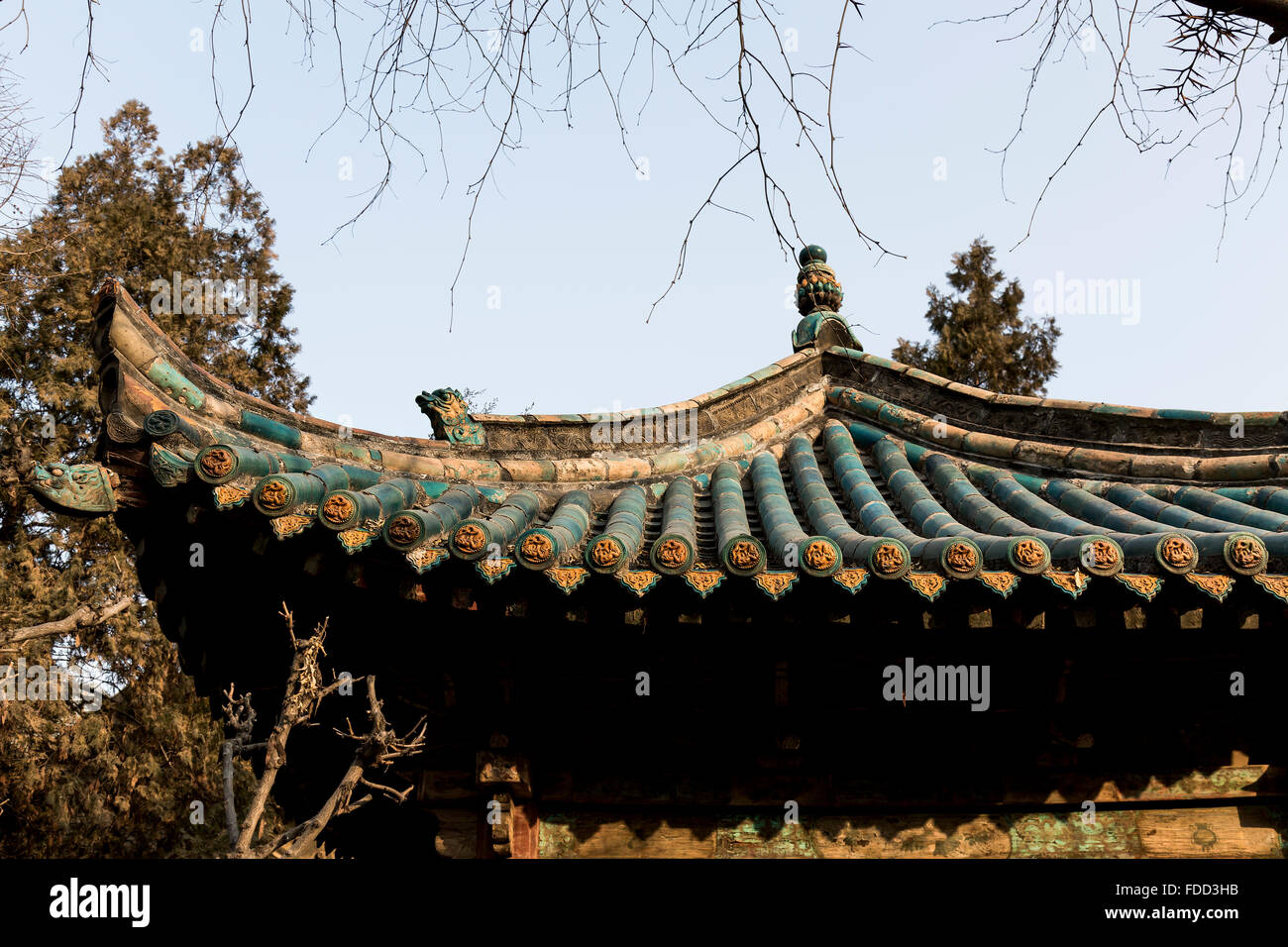 Chinese Pavilion Roof Design High Resolution Stock Photography And Images Alamy