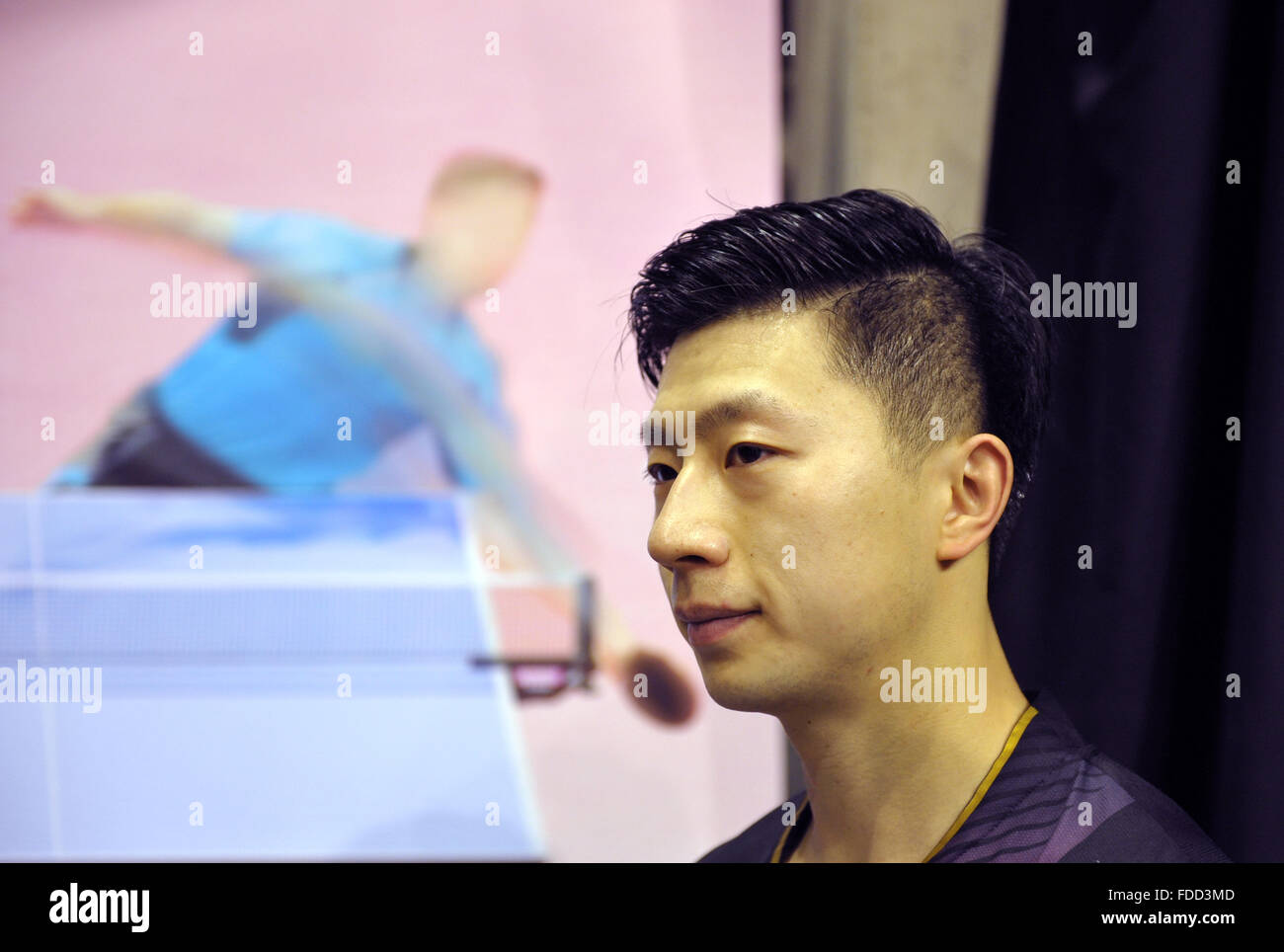 Ma Long Hairstyle