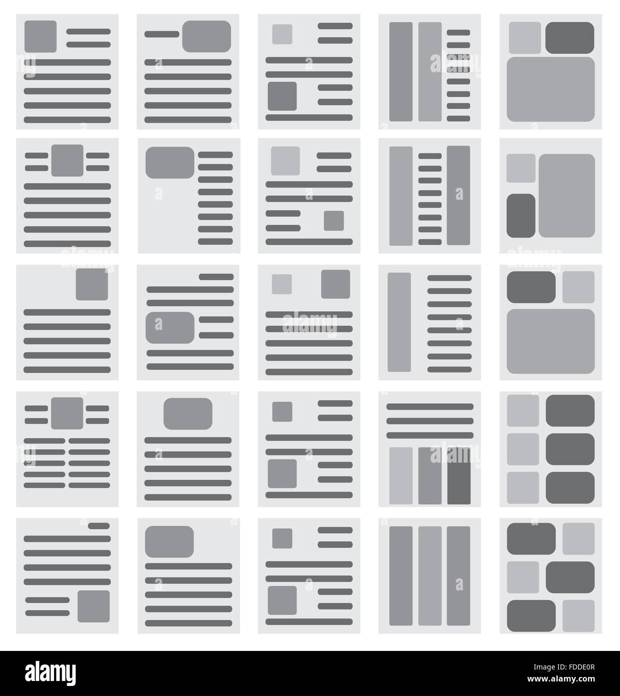 Instruction leaflet stock vector images alamy brochure templates stock vector maxwellsz