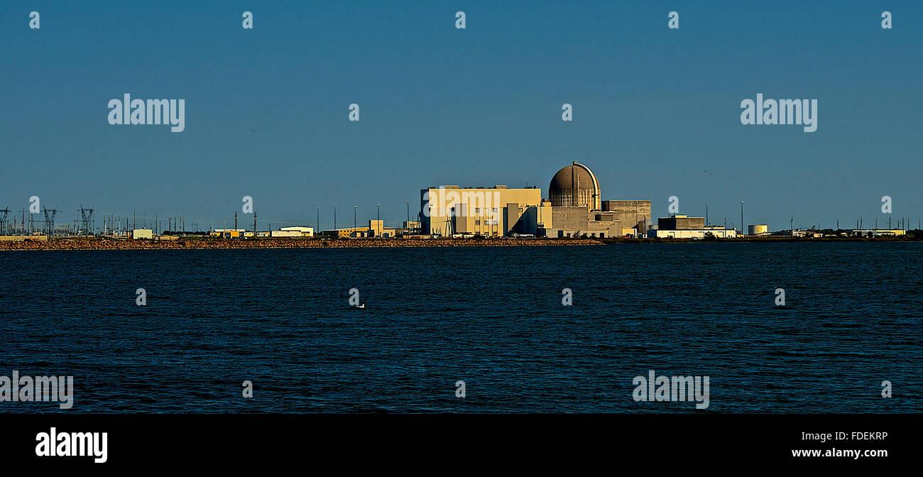 Burlington, Kansas, USA, 25th September, 2014 Wolf Creek Generating Station, a nuclear power plant located near - Stock Image