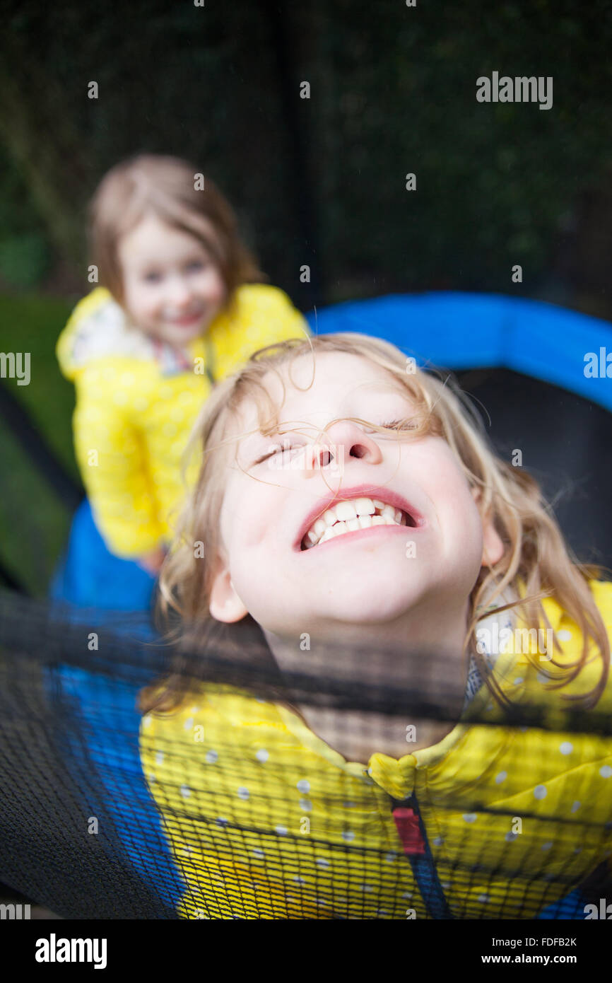 Big Grin Kids - Stock Image