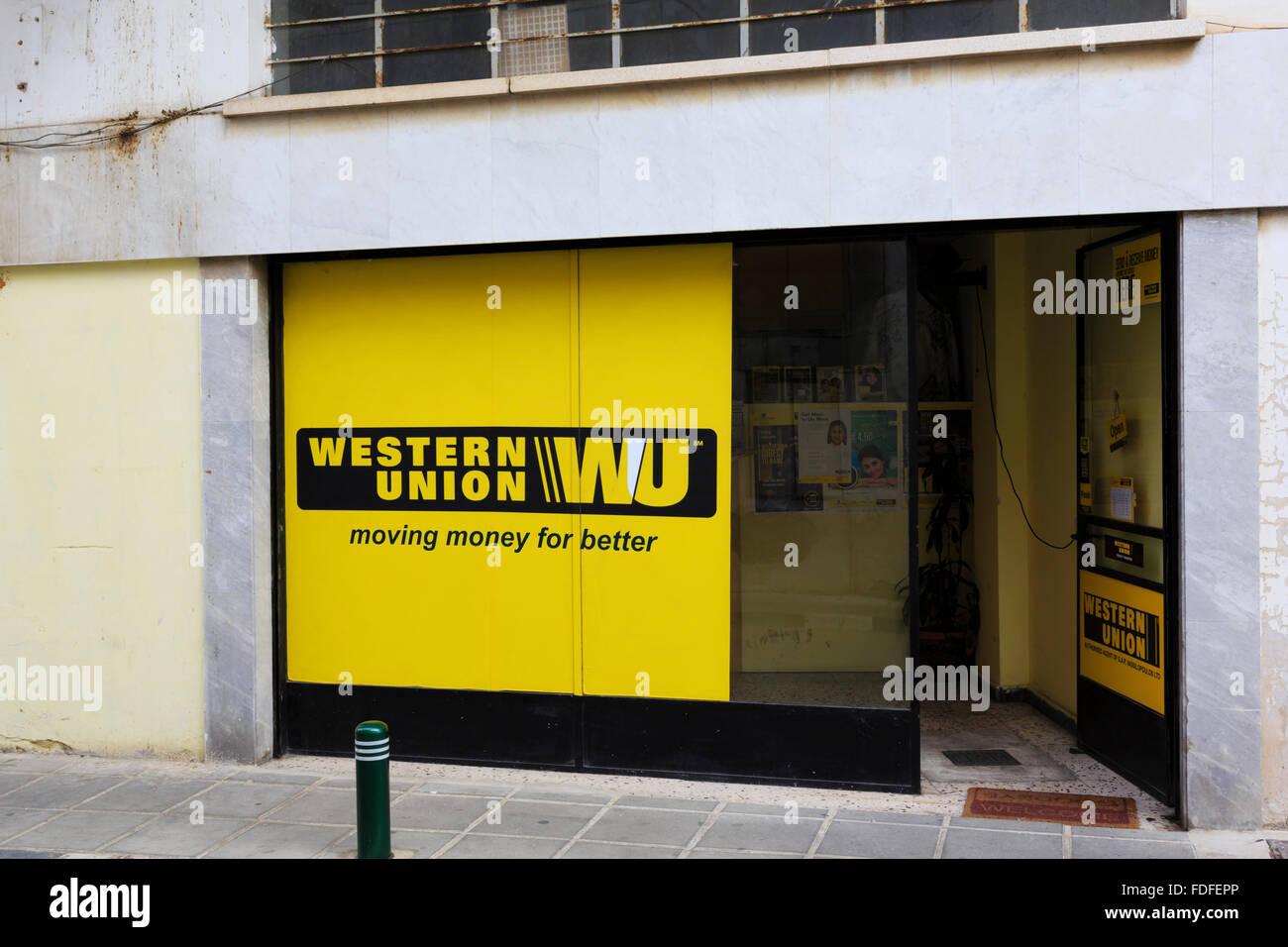 Western union shop stock photos western union shop stock images