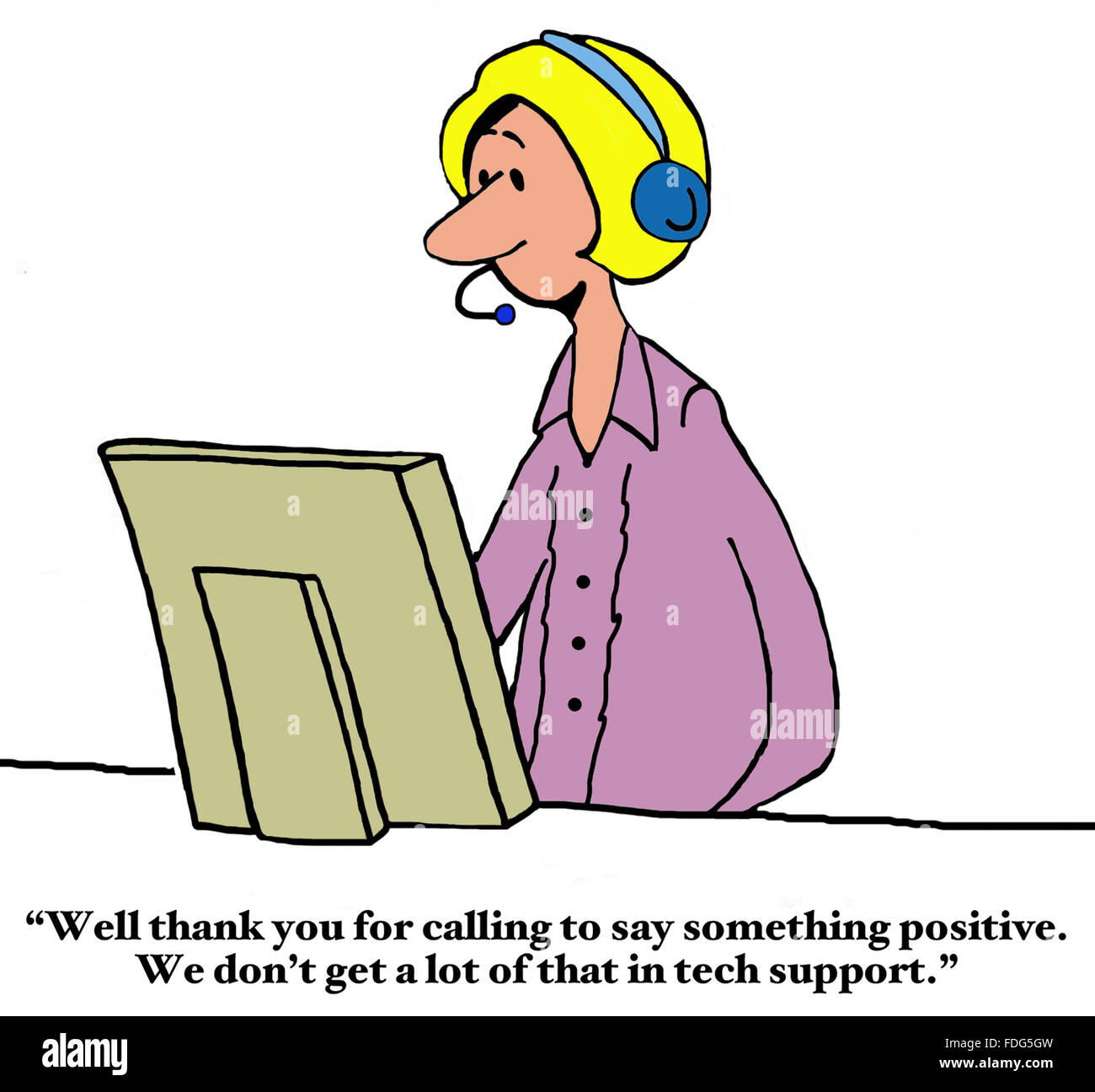 customer service cartoon tech support stock photos customer