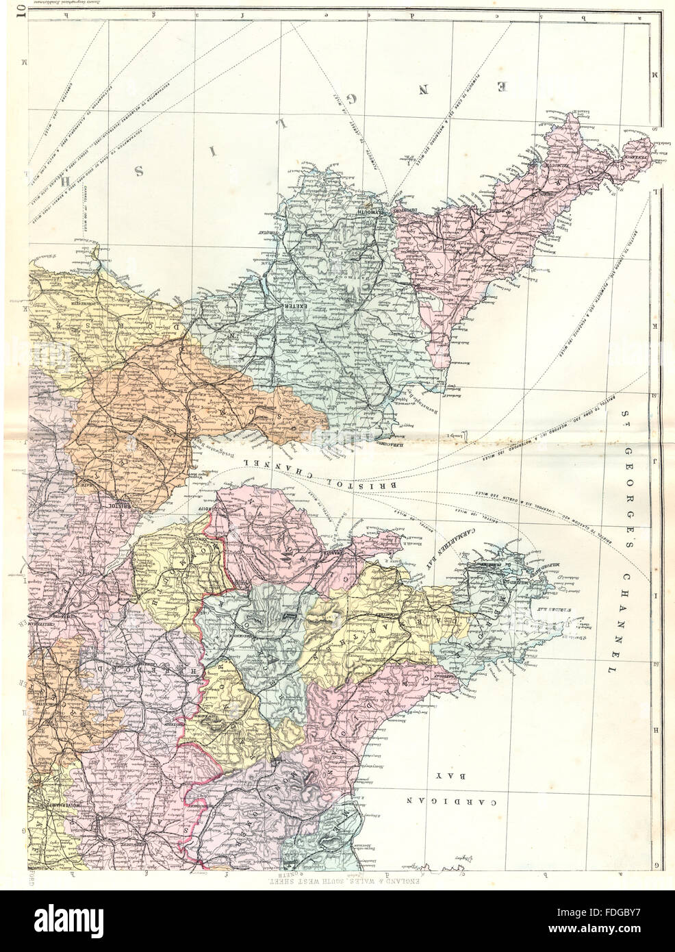 South Devon England Map.South Wales South West England Devon Cornwall Somerset Bacon