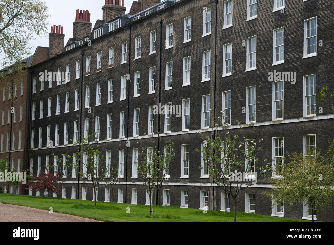 Buildings at Gray's Inn, London, one of the four Inns of  Court of the British legal system - Stock Image