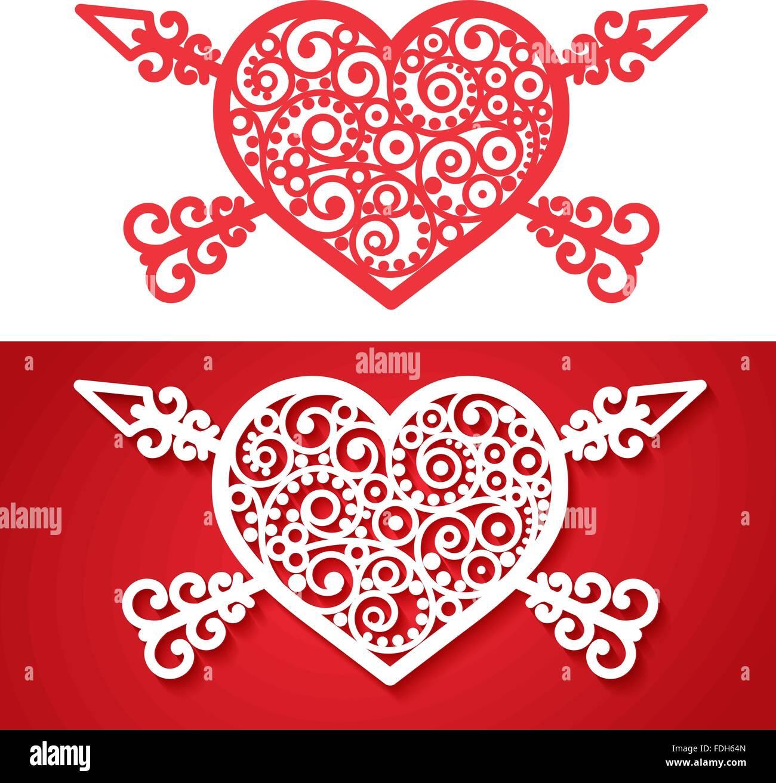 Cross Heart Symbol Tattoo Stock Photos & Cross Heart Symbol Tattoo ...