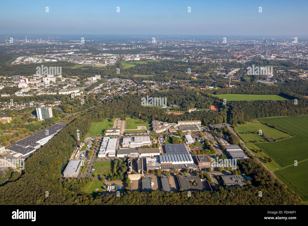 WDR Köln, WDR production area Cologne-Bocklemünd, the largest TV station in Germany, Cologne, Rhineland, - Stock Image