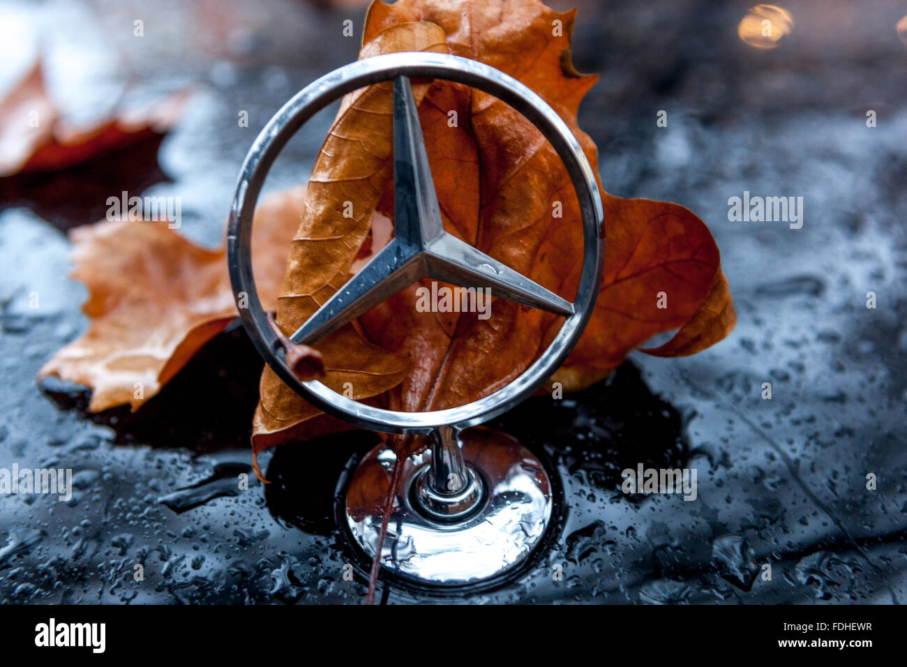 Old mercedes car stock photos old mercedes car stock for Mercedes benz sign in