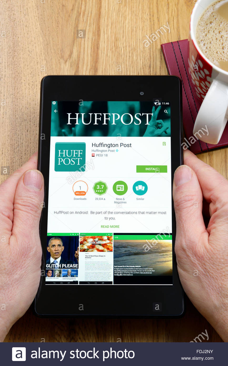 best android apps huffington post