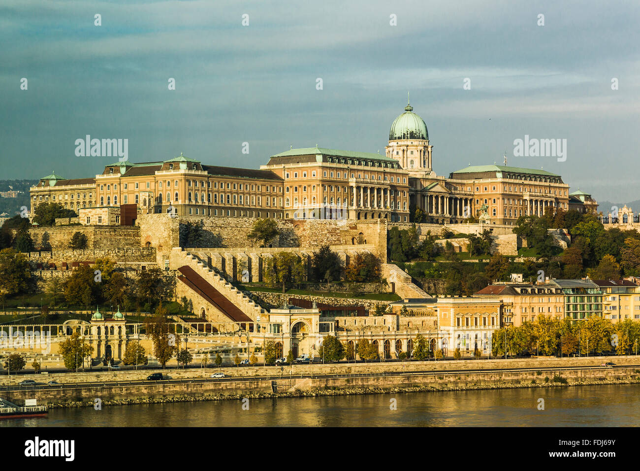 Royal Palace, Budapest, Hungary Stock Photo