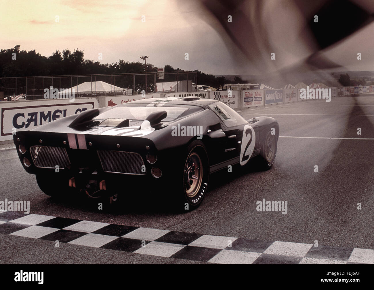 ford gt40 mkii 1966 le mans 24 hour race winner driven by bruce stock photo 94442503 alamy. Black Bedroom Furniture Sets. Home Design Ideas