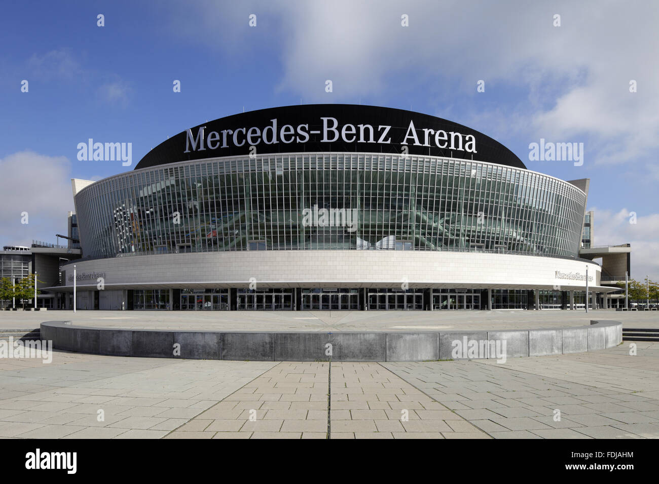 berlin germany the mercedes benz arena in berlin. Black Bedroom Furniture Sets. Home Design Ideas