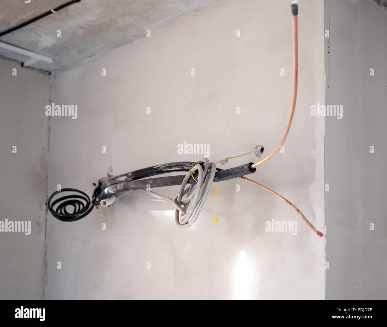 Electrical Wiring In New Home Stock Photos & Electrical Wiring In ...