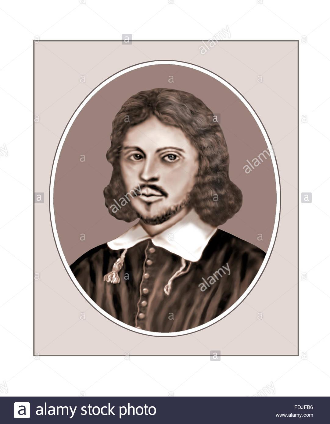 Thomas Tallis, Composer, Portrait - Stock Image