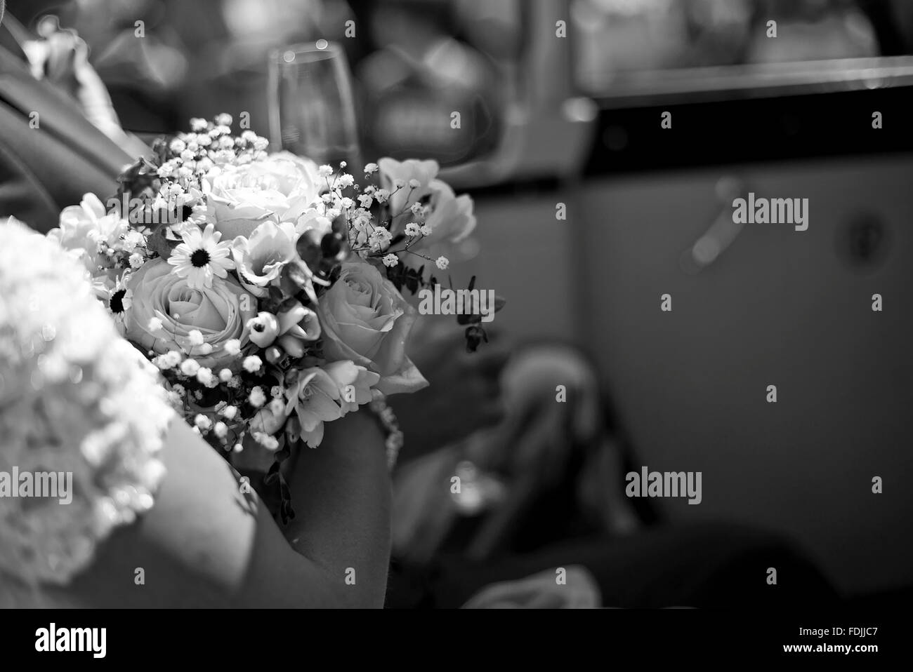 Wedding Day Detail - Stock Image