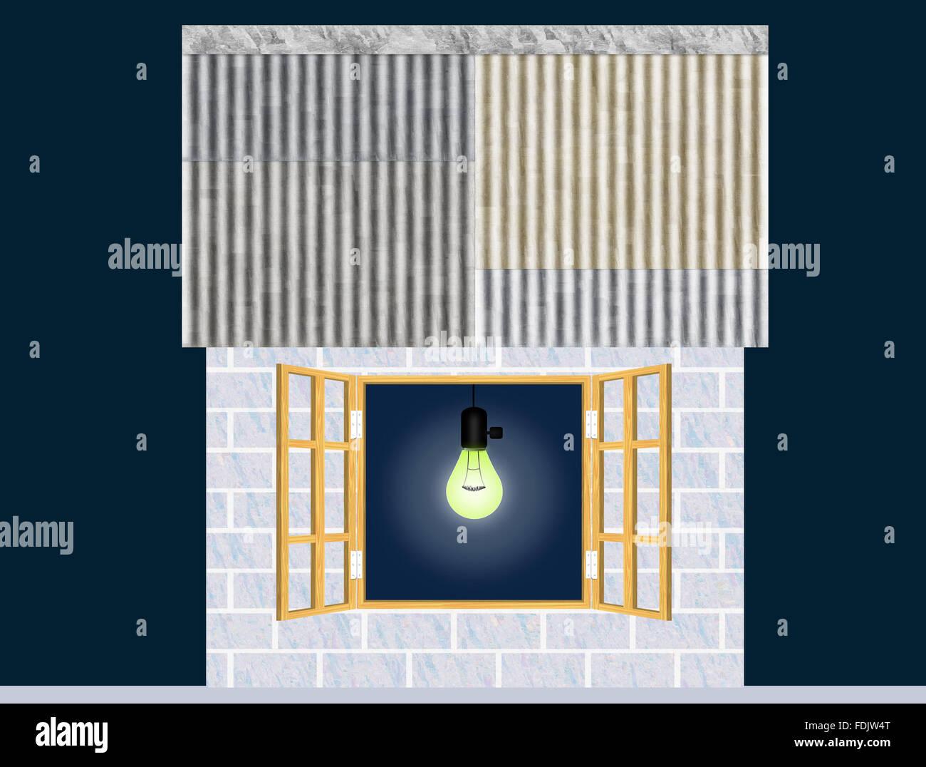 Humble Abode - Stock Image