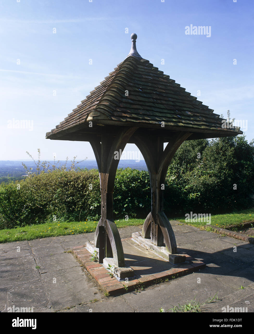 The Well At Toys Hill Kent Which Was Originally Sunk By Octavia