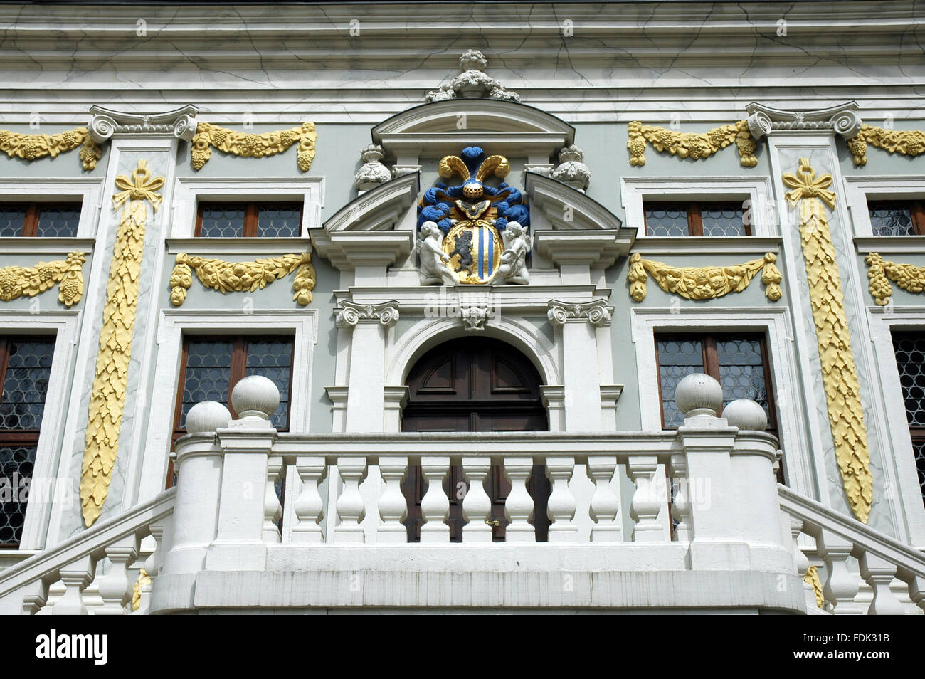leipzig,alte handelsbörse Stock Photo