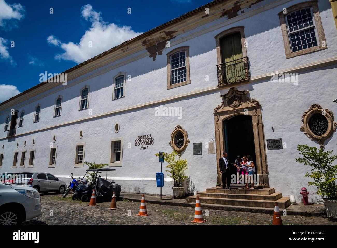 Pestana Convento do Carmo 5-star Hotel, Salvador, Bahia, Brazil - Stock Image