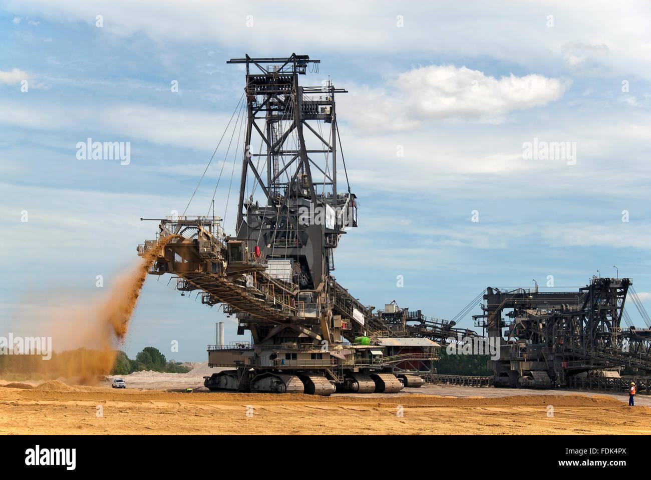 mining,weaners,drop,bandwagon - Stock Image
