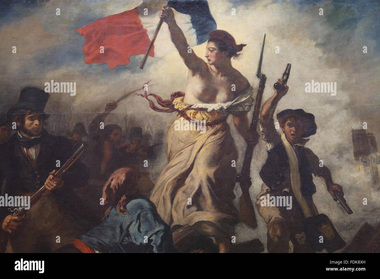 eugene delacroix liberty leading