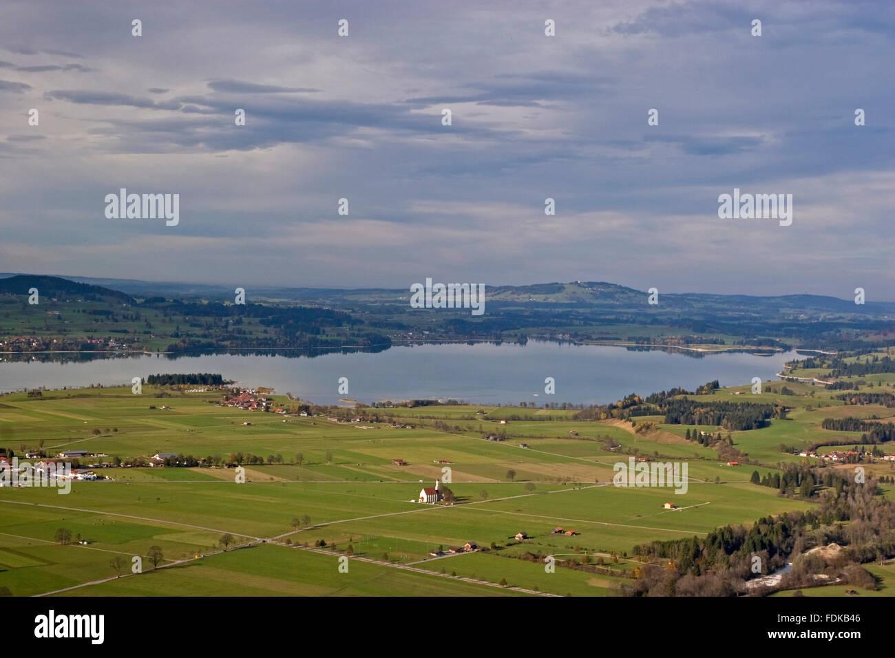 landscape,allgau,schwangau Stock Photo